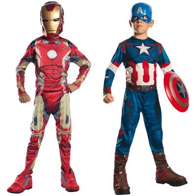 Panoplie bipack Avengers 7-8 ans