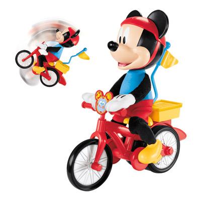 Mickey et son vélo