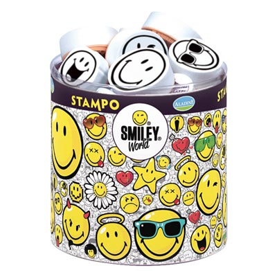 Stampominos Smiley