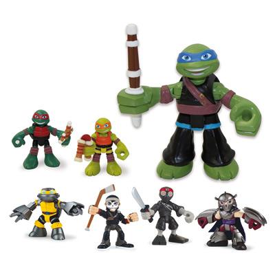 Blister 2 personnages tortue ninja giochi king jouet - Jeux de tortue ninja gratuit ...