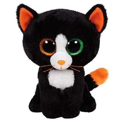 Peluche Beanie Boo's Small Frights Le Chat