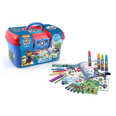 mallette d 39 activit s pat 39 patrouille canal toys king jouet dessin et peinture canal toys. Black Bedroom Furniture Sets. Home Design Ideas