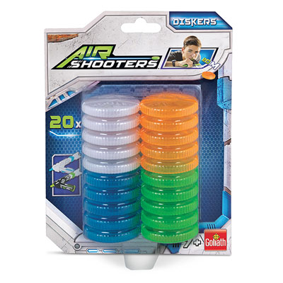 Recharge Disques Air Shooters