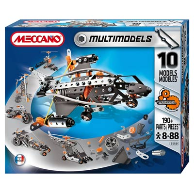 Meccano Coffret 10 modèles