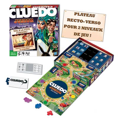 Cluedo Junior Nouvelle Version