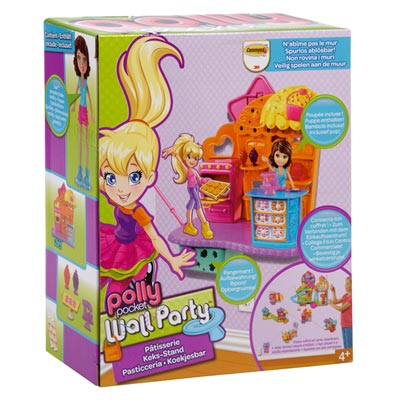Polly pocket wall party p tisserie mattel king jouet - Polly pocket jeux gratuit ...