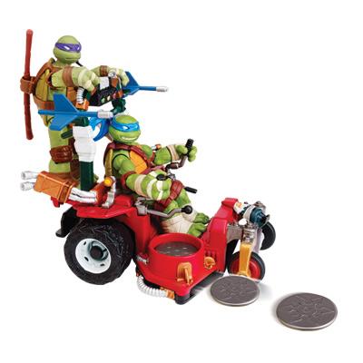 Tortue ninja v hicule grass kicker giochi king jouet - Vehicule tortue ninja ...