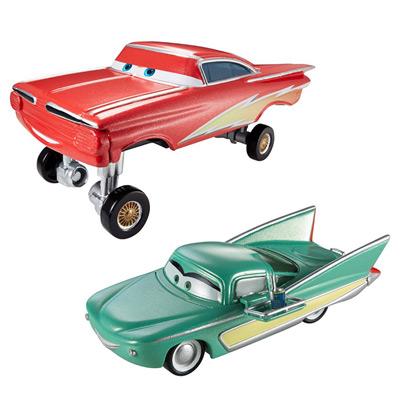 Cars Flash Ramone Hydraulique et Pit Crew Member Flo
