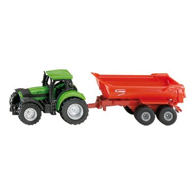Tracteur avec Benne Basculante