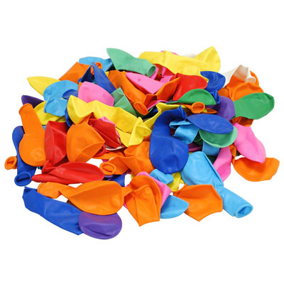Lot de 100 ballons de baudruche