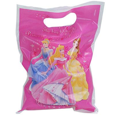 6 sachets cadeau princesse pour 2€