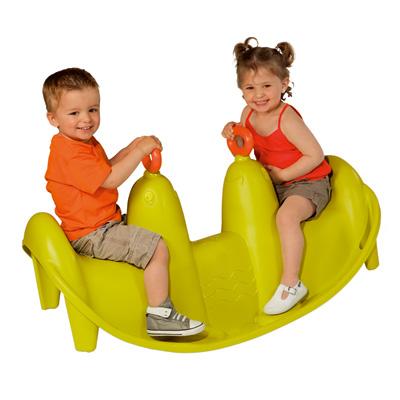 Bascule otaries smoby king jouet portiques toboggans smoby sport et jeux de plein air - Toboggan king jouet ...