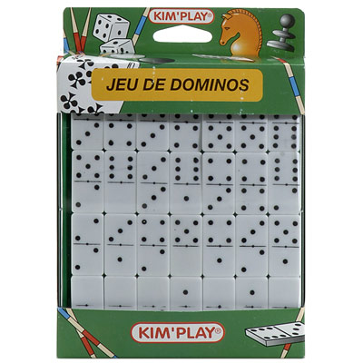 Jeu de dominos de voyage pour 3€