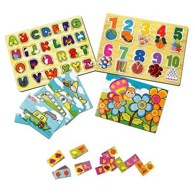 Mes 9 premiers jeux en bois