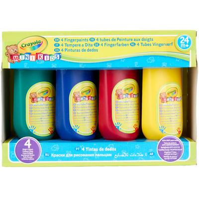 Peinture au doigt lavable crayola king jouet dessin et for Peinture lavable
