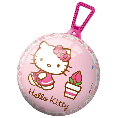 Ballon sauteur Hello Kitty