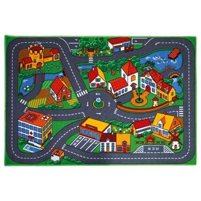 Tapis de jeu pour petites voitures super jack city king - Petite voiture jouet pas cher ...
