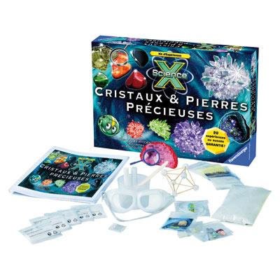 X Science : Cristaux Et Pierres Précieuses