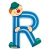 Lettre clown R