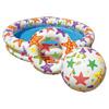 Set piscine 122 x 25cm + ballon + bouée