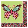 Serviettes Hippie Chick Papillon