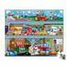 Puzzle véhicules 100 pièces
