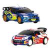 Race Tin Coffret DS3 WRC + Subaru 1/28ème