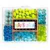Coffret de perles rêve turquoise