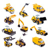 Pack de 4 véhicules de chantier
