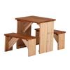 Ensemble table et banc pique-nique Zidzed