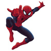 Sticker géant repositionnable Ultimate Spiderman