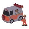Véhicule Fluorescent de Pompiers ScoobyDoo avec 1 figurine