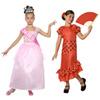Coffret de 2 costumes filles taille  7 à 9 ans