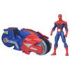 Spiderman Véhicule Spider Strike Blaze Wing Cycle