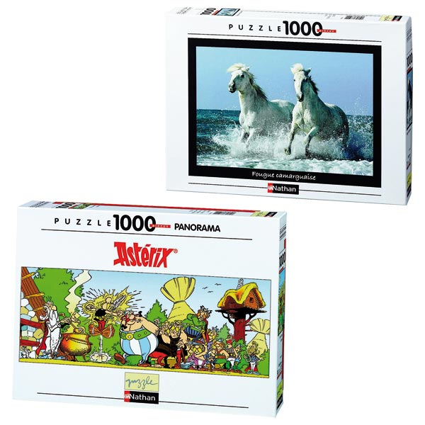 Puzzle série nature 1000 pièces pour 19€