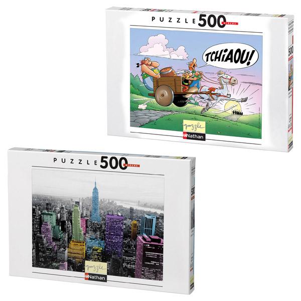 Puzzle 500 pièces pour 13€
