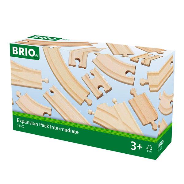Brio 33402-Coffret évolution intermédiaire 16 rails
