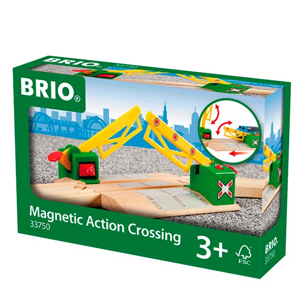 Brio 33750-passage à niveau magnétique
