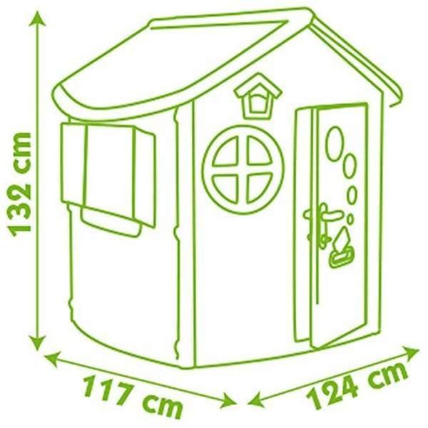 Maison enfant jura lodge jeu d 39 ext rieur smoby king jouet maisons tentes et autres smoby - Maison de jardin jura lodge smoby saint denis ...