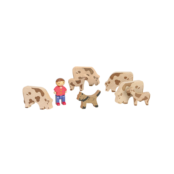 Chalet en bois 240 pièces avec 3 personnages