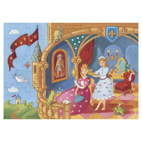 Puzzle 36 pièces la Princesse et la grenouille