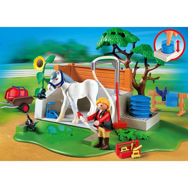 Playmobil jeux cr atifs page n 15 - Douche pour chevaux playmobil ...