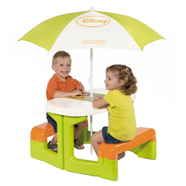 Table Picnic Parasol Winnie Smoby King Jouet Maisons