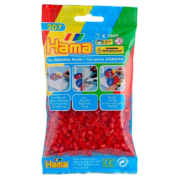 1000 Perles à repasser Rouge