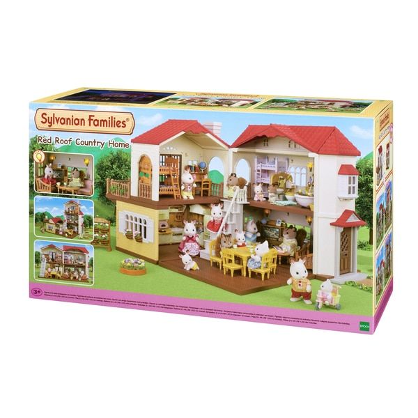 sylvanian families la maison clair e sylvanian families king jouet h ros univers sylvanian. Black Bedroom Furniture Sets. Home Design Ideas