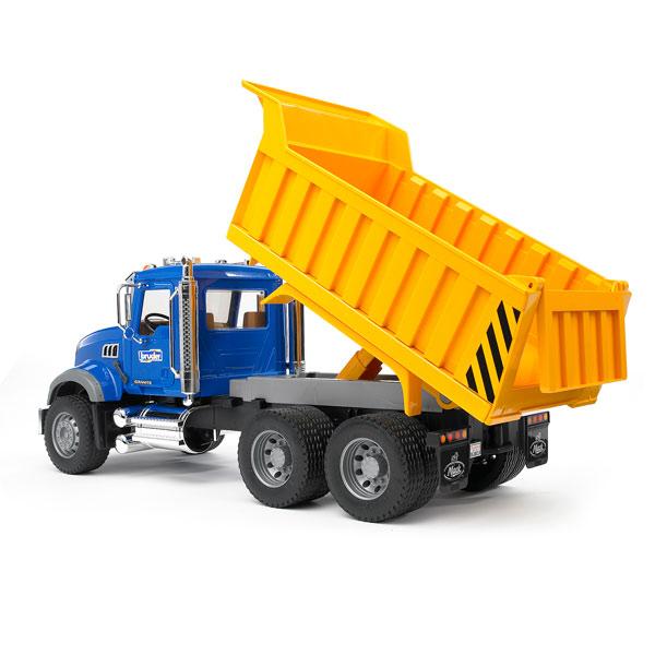 camion benne mack bruder king jouet v hicules de. Black Bedroom Furniture Sets. Home Design Ideas