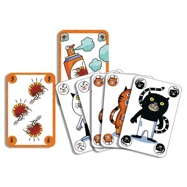 Jeu de cartes Sakapuss
