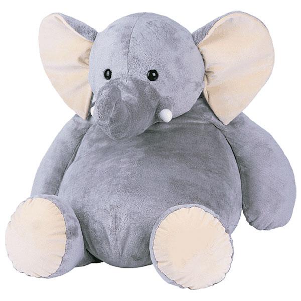 Histoire d'Ours - Peluche éléphant 23 cm