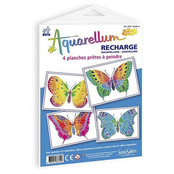 Recharge aquarellum junior papillons