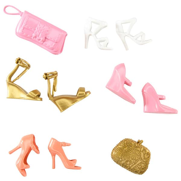 barbie chaussures et accessoires. Black Bedroom Furniture Sets. Home Design Ideas